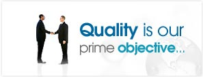 Quality is our prime objective